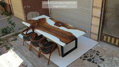 """96 Beğenme, 0 Yorum - Instagram'da LEGNOROFFICIAL (@legnorofficial): """"it is ready to ship for 🇺🇲 #möbel #ebaykleinanzeigen #esstisch #epoxidharz #epoxidharztischplatte…"""" Epoxy Resin Table, Outdoor Furniture, Outdoor Decor, Entryway Bench, Solid Wood, Trending Outfits, Home Decor, Instagram, Mesas"""
