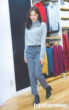 Kim Go Eun Hair, Kim Go Eun Style, Korean Actresses, Korean Celebrities, Japan Fashion, Korean Outfits, Daily Look, Autumn Winter Fashion, Korean Fashion