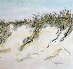 Watercolor Beach Sand