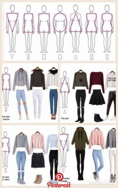 rectangle body shape outfits outfits style Source by fikenyy casual como combinar Teen Fashion Outfits, Mode Outfits, Look Fashion, Trendy Outfits, Fashion Dresses, Woman Outfits, Capsule Outfits, Fashion Beauty, Capsule Wardrobe Work