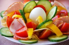 Castilian-Style Cucumber and Tomato Salad. Recipe by executive chef Daniel Chong-Jimenez of The Spa at Norwich Inn.