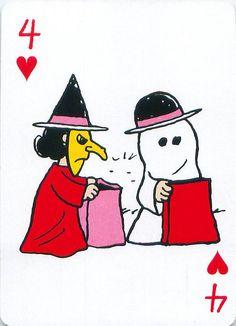 https://flic.kr/p/dd2yN6 | Peanuts Great Pumpkin Playing Cards | From the Peanuts Great Pumpkin card deck set.