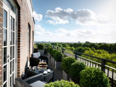 Grosvenor House Apartments by Jumeirah Living - View from a Penthouse balcony #London