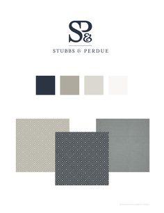 Stubbs & Perdue by Nina Randone, via Behance. #Logo #LawFirm #ninarandone