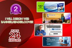 Design Professional Web Banner and Header Main Type : Banner Ad & Headers Pacshot : 2D , 3D Main Style : Corporate , Flat , Modern , Simple/Minimal , Luxurious File Format : JPG , PNG , PDF , PSD Also Ofer : Deal Package , Ready to Print 2 Day Delivery Service ………… Extras…24 hour delivery service www.fiverr.com/djokosunaryo