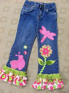 Decora unos pantalones y dales una nueva vista #moda #reparacion #Yolohice #Singer