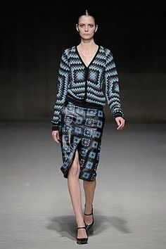Christopher Kane AW 2011 collection.