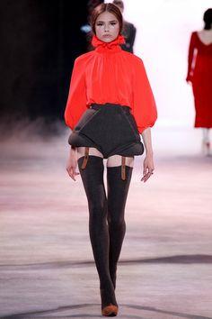 Ulyana Sergeenko,  Осень-зима 2013/14, Couture, Париж