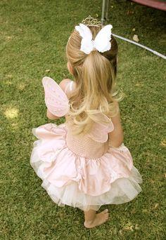 Pink Fairy Themed Birthday Party Full of Really Cute Ideas via Kara's Party Ideas KarasPartyIdeas.com #fairies #fairyparty #girlparty #fairypartydecor (20)
