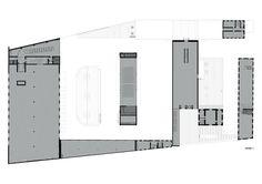 Fondazione Prada,First Floor Plan - © OMA