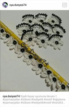 These Needle Lace Models Are Among The Top 50 Most Wanted Models - Bowknot Floral Embroidery Models with Top 50 - Crochet Blocks, Crochet Borders, Crochet Stitches, Crochet Patterns, Bead Embroidery Jewelry, Ribbon Embroidery, Floral Embroidery, Bead Crochet, Crochet Lace