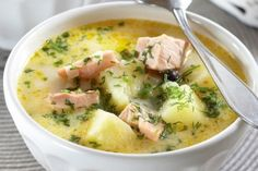 Finnish Salmon chowder