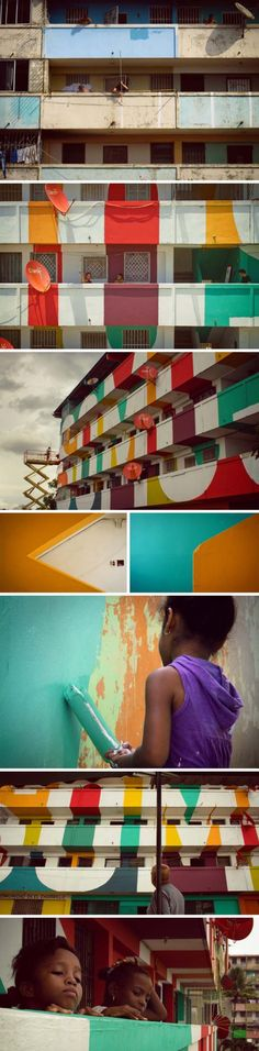 Boamistura, Panama City, Somos Luz, We are Light, Street Art, Community