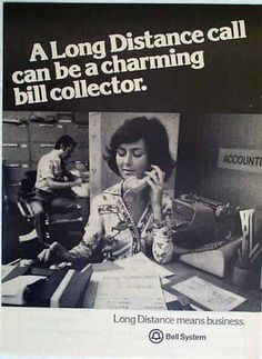 Bell Telephone – Charming Bill Collector (1977)                                                                                                                                                                                 More