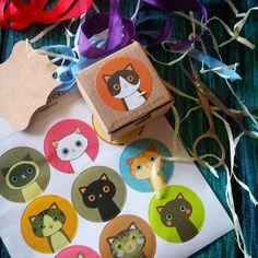 Cat box  Все коты любят коробочки и мы обязательно пакуем в них все украшения - и красиво, и котикам приятно    Стикеры - 20 грн/лист  #catshop #box #sticker #cat #style #catportret #flatlay #package #tape #catbox #tag #madeinukraine #vscoua #vsocam
