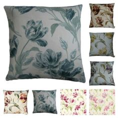 Cushion Covers Made With Gosford Tulip Floral Laura Ashley Fabric Various Sizes