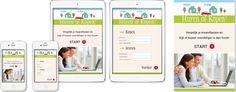Huren of kopen voorbeeld App. Bereken gemakkelijk d.m.v. uw netto maandlasten wat voordeliger wonen is. Huren of kopen? Heeft uw bedrijf ook interesse in een App? Neem contact op met Nylson Marketing & Reclame. #Marketing, #apps, #wonen