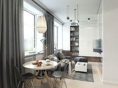 Quando um apartamento é pequeno, adicionar vários elementos sem o devido planejamento, pode comprometer a qualidade de vida dos moradores. Aí está a import