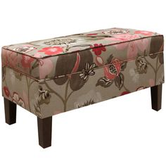 Found it at Wayfair.ca - Warner Upholstered Storage Bedroom Bench in Gorgeous Blossom