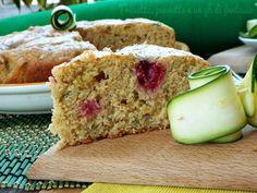 Torta+alle+zucchine+limone+e+lamponi