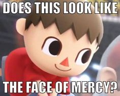 During their Nintendo Direct, Nintendo announced that the Villager from Animal Crossing, Wii Fit Trainer and Mega Man will be playable character in the upcoming Super Smash Bros. game for the Wii U. Animal Crossing Memes, Animal Crossing Villagers, Little Boy Quotes, Video Game Memes, Video Games, Wii Fit, Me Anime, Anime Art, Smosh