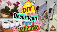 DIY - Dicas de Decoração Para Banheiro - Eduardo Wizard