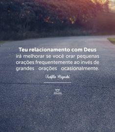 Atalaias de Deus Gospel Quotes, Jesus Quotes, Good Good Father, God Is Good, My Jesus, Jesus Christ, Your Love Never Fails, Portuguese Quotes, King Of My Heart