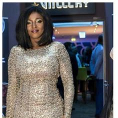 Yvonne Okoro looks beautiful at the UK premiere of 'Rebecca'