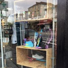 New window display for 420 Skate Store - Retail Design World