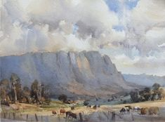 Home - Ross Paterson Watercolor Artists, Watercolor Landscape, Watercolour Painting, Landscape Paintings, Painting Art, Watercolors, Australian Painting, Australian Artists, New Artists