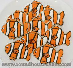 Clown fish cookies