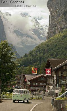 Lauterbrunnen, Schweiz.