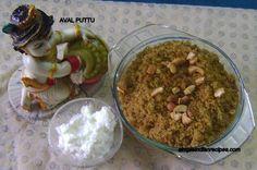 Aval Puttu - Poha Sheera - Pressed Rice Dessert   Simple Indian Recipes