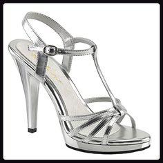 Fabulicious Riemchen-Sandaletten Flair-420 mattsilber Gr. 36 - Sandalen für  frauen ( 9eead9eefd