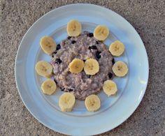 Da Panela para o Coração : Papas de aveia com mirtilos e banana