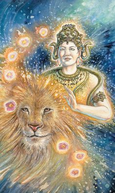 Animals Divine Tarot: Gallery: Major Arcana: Strength