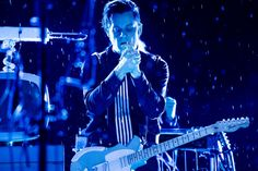 Jack White Red Rocks - summer rain made the stage wet but beautiful images!