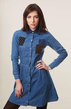 Patchwork Dress, Drop Dead Clothing