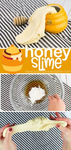 You only need 3 ingredients to make this edible honey slime - perfect for a Disney Movie night or Teddy Bear Picnic! You only need 3 ingredients to make this edible honey slime - perfect for a Disney Movie night or Teddy Bear Picnic! Picnic Activities, Activities For Kids, Crafts For Kids, Sensory Activities, Art Crafts, Sensory Play, Kids Diy, Preschool Crafts, Chocolate Slime