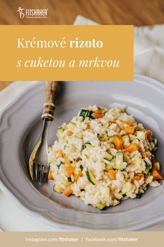 Risotto, Vegetables, Healthy, Ethnic Recipes, Fit, Shape, Vegetable Recipes, Health, Veggies