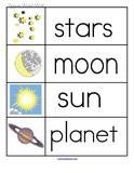 Space Theme Activities for Preschool PreK and Kindergarten