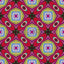 Vibrant African textile design