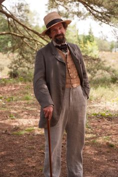 """Ralph Fiennes as Charles Dickens in a scene from \""""The Invisible Woman."""
