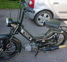 Puch Moped, Moped Bike, 50cc, Mopeds, Mini Bike, Motorbikes, Cool Cars, Character Art, Classy