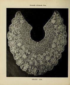 Album de guipure d'Irlande (5th volume) Irish Crochet Lace