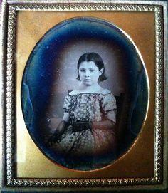Little Emma Everitt daguerreotype by smokey lace, via Flickr