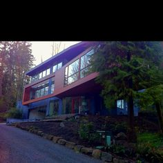 Nike house aka the Cullen residence in Twilight.. Portland, OR