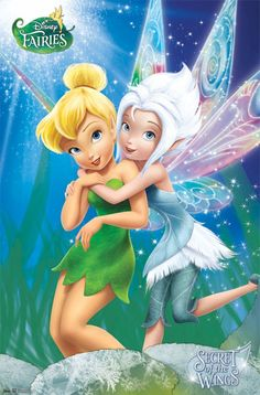 Tinkerbell & Periwinkle..