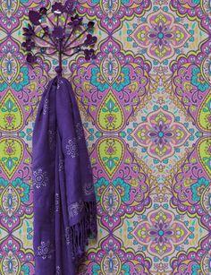 Behang met prachtige patronen