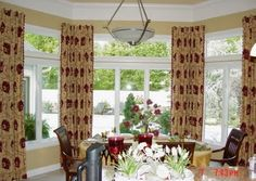 Window treatments transom windows and arched window treatments